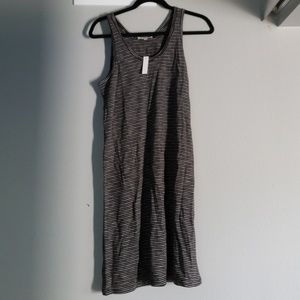 Madewell stripe Tank Dress M